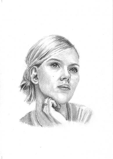 Scarlett Johansson by sketch31